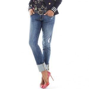 CAbi Mojave Distressed Slim Boyfriend Jeans #5165